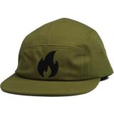 Vuur family - 5 PANEL CAP ARMY GREEN / BLACK