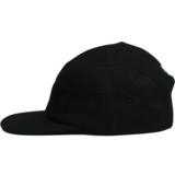 Vuur Family - 5 PANEL CAP BLACK / WHITE