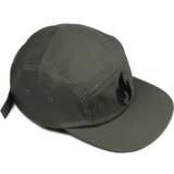 Vuur Family - 5 PANEL CAP GREY / BLACK