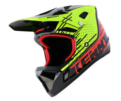 Kenny BMX Decade Helmet 2020 Yellow Red