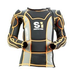 S1 bodyprojector Defense Pro 1.0 Jacket Black/Orange