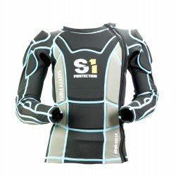 S1 Bodyprotector Defense Elite 1.0 High Impact Jacket Black/Blue