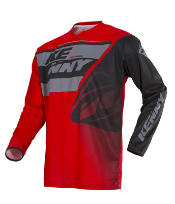 Kenny Shirt Track Kid 2018 Grey Red