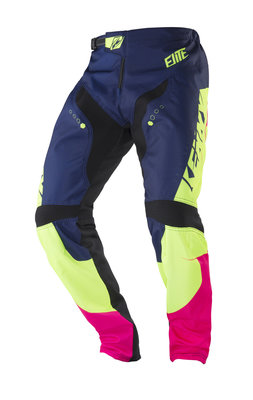 Kenny BMX Broek Elite Navy Lime KID 2018