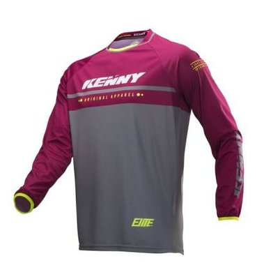 kenny BMX elite jersey kid 2019 Burgundy
