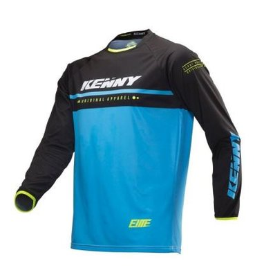 kenny BMX elite jersey kid 2019 Cyan