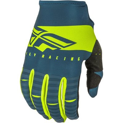 FLY Kinetic Shield 2019 Glove Navy/Hi-Vis - youth