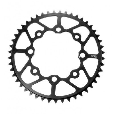 SD-X CNC 7075 Chainring 4 hole 104 Black
