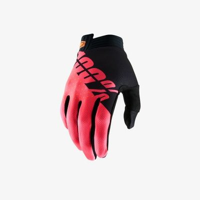 100% iTrack Black Fluo Red