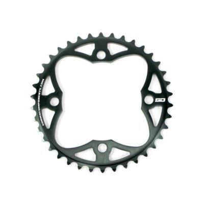 SD CNC 6061 Chainring 4 hole 104 Black